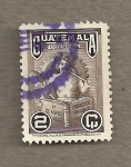 Sellos de America - Guatemala -  Símbolo del trabajo