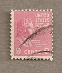 Stamps United States -  William Henry Harrison