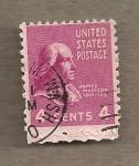 Sellos de America - Estados Unidos -  James Madison