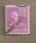 Stamps United States -  Zachary Taylor