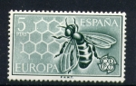 Stamps Spain -  EUROPA- Abeja