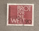 Stamps Germany -  Pan para la humanidad