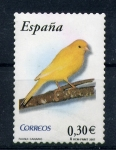 Stamps Spain -  canario