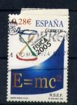 Stamps Spain -  año mundial de la física