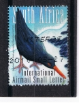 Sellos del Mundo : Africa : Sudáfrica :   South  Africa  International  Airmail  Small  letter