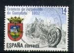 Sellos de Europa - España -  estatuto autonomico de cantabria
