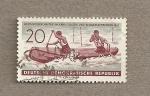 Stamps Germany -  Campeonatos mundiales de canoeing