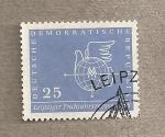 Stamps Germany -  Feria de primavera de Leipzig