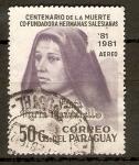 Stamps Paraguay -  MARÍA  MAZZARELO
