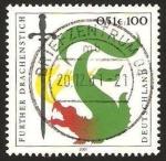 Stamps Germany -  2039 - Costumbre y tradicion: dragón y espada