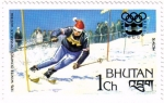 Sellos de Asia - Bhután -  Olimpiadas de invierno. Innsbruck 1976.