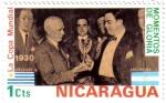 Stamps America - Nicaragua -  Copa Mundial de Fútbol Uruguay 1930
