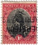 Sellos de Africa - Sudáfrica -  Barco