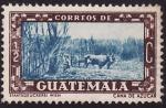 Stamps Guatemala -  Caña de azúcar