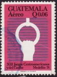 sellos de America - Guatemala -  XIII Juegos Centroamericanos y del Caribe Medellin78