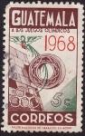 Sellos de America - Guatemala -  Guatemala a los Juegos Olimpicos 1968