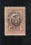 Stamps Peru -  Guerra del Pacífico