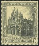 Sellos de Europa - San Marino -  ITALIA: Centro hist�rico de Siena