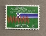 Stamps Switzerland -  Convención medida del metro