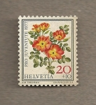 Stamps Switzerland -  Pro Juventute 1977