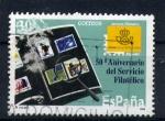 Sellos de Europa - España -  50º aniv. del servicio filatelico