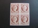 Stamps America - Colombia -  Bloque de cuatro, 10c. 1876