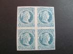 Stamps America - Colombia -  Bloque de cuatro, 20c. 1876