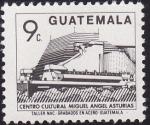 Stamps America - Guatemala -  Centro Cultural Miguel Ángel Asturias