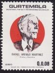 Sellos del Mundo : America : Guatemala : Rafael Arévalo Martinez