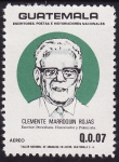 Stamps Guatemala -  Clemente Marroquin Rojas.