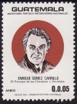 Stamps America - Guatemala -  Enrique Gomez Carrillo