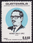 Stamps America - Guatemala -  Werner Ovalle Lopez