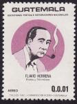 Sellos del Mundo : America : Guatemala : Flavio Herrera