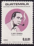 Stamps America - Guatemala -  Flavio Herrera