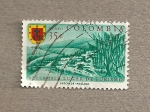 Stamps Colombia -  Bellaisla