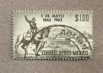 Sellos del Mundo : America : México : 5 Mayo Aniv Batalla de Puebla