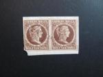 Sellos del Mundo : America : Colombia : Bloque de dos, 10c. 1878
