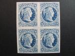 Stamps America - Colombia -  Bloque de cuatro, 20 c. 1880