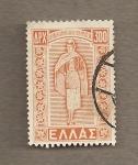 Stamps Greece -  Vestido del Dodecaneso