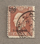Stamps Greece -  Rey Pablo