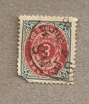 Stamps Europe - Denmark -  Cifra