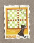 Sellos de America - Nicaragua -  Ajedrez Movimiento de la torre