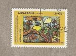 Sellos de America - Nicaragua -  Los niños defendemos la naturaleza