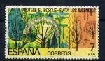Sellos de Europa - España -  protege el bosque-evita los incendios