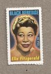 Sellos de America - Estados Unidos -  Ella Fitzgerald, cantante