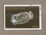 Sellos de Asia - Azerbaiyán -  Pegea confoederata