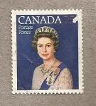 Stamps Canada -  Reina Isabel II