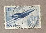 Sellos de America - Israel -  Avión de caza