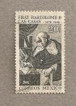 Sellos de America - México -  Fray Bartolomé de las Casas