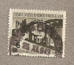 Sellos de Europa - Bulgaria -  Servicio de correos